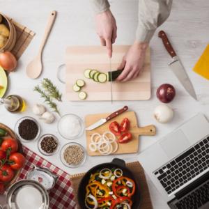 chopping-food-ariel